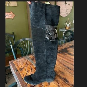 Joie over the knee suede boot-fits size 10